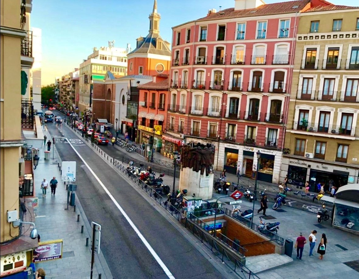 Small hotel in Madrid center with reduced price